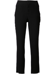 Transit Fitted Trousers Black