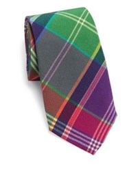 Ralph Lauren Multistriped Silk Tie