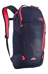 The North Face 'Pinyon' Backpack Cosmic Blue Rocket Red
