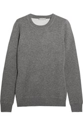 Michael Kors Collection Cashmere Blend Sweater Gray