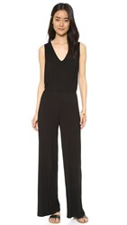 Bb Dakota Ollie Cross Back Jumpsuit Black