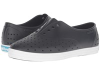 Native Jericho Jiffy Black Shell White Women's Shoes