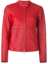 Desa 1972 Band Collar Jacket Red
