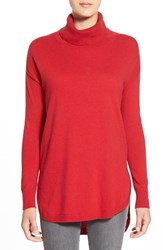 Chelsea 28 Women's Chelsea28 Turtleneck Sweater Red Beauty Heather