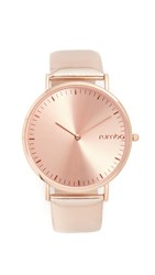 Rumbatime Soho Metallic Watch Rose Gold