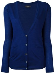 Isabel Marant V Neck Cardigan Blue