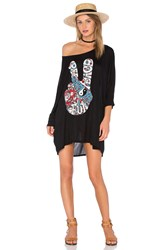 Lauren Moshi Milly Oversized Dress Black