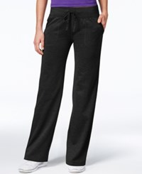 Ideology Id Warm Relaxed Leg Pants Only At Macy's Noir