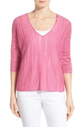 Women's Nic Zoe 'Macaron' V Neck Knit Top