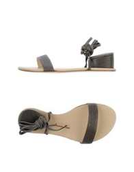 Emma Lou High Heeled Sandals Dove Grey