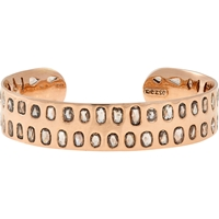 Dezso Diamond And Rose Gold Cuff