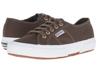 Superga 2750 Cotu Classic Military Gold Lace Up Casual Shoes
