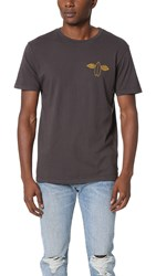 Mollusk Flying Fish Tee Faded Black
