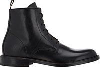 Barneys New York Lace Up Boots Black