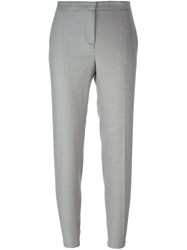 Fabiana Filippi Slim Fit Cropped Trousers Grey