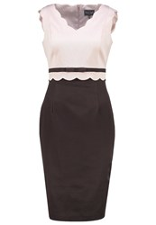 Phase Eight Florence Shift Dress Chocolate Brown