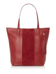 Dickins And Jones Harlow Tote Handbag Raspberry