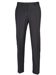 Paul Costelloe Tailored Grey Semi Plain Suit Trousers