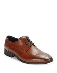 Kenneth Cole Reaction Minute To Spare Leather Oxfords Cognac