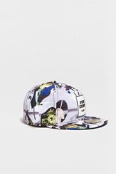 Opening Ceremony Palm Collage New Era 59Fifty Cap Summer Yellow Multi