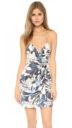 Style Stalker Hawaiian Sunset Wrap Dress