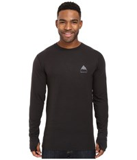 Burton Midweight Crew True Black 1 Men's Long Sleeve Pullover