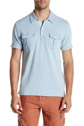 Lucky Brand Pocket Polo Blue