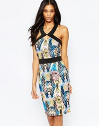 Paper Dolls Printed Midi Dress Print