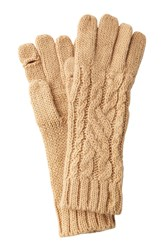 Polo Ralph Lauren Gloves With Wool And Alpaca Camel