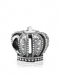 Pandora Design Pandora Charm Sterling Silver Royal Crown Moments Collection