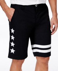 Inc International Concepts Men's Embroidered Shorts Only At Macy's Black