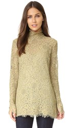 By Malene Birger Solar Lace Blouse Olive Grey