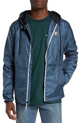 Hurley Men's 'Blocked' Ripstop Hooded Zip Jacket