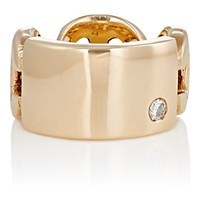 Hoorsenbuhs Women's Id Plate Ring Gold No Color Gold No Color