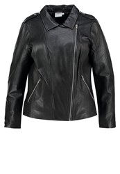 Junarose Jrjassie Leather Jacket Black