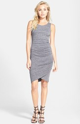 Women's Leith Ruched Body Con Tank Dress Grey Med Heather