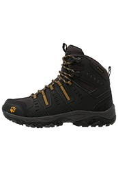 Jack Wolfskin Mtn Storm Texapore Mid Walking Boots Burly Yellow Black