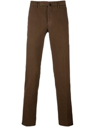 Incotex Classic Chinos Brown