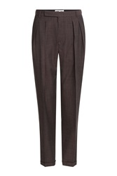 Carven Wool Pants Red