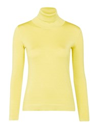 Marc Cain Long Sleeve Roll Neck Jumper Lime