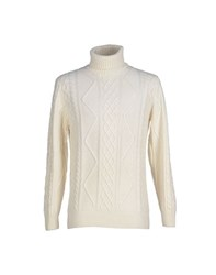 Altea Knitwear Turtlenecks Men Ivory