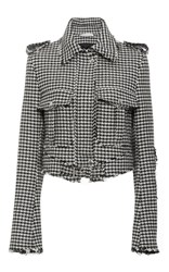 J.W.Anderson J.W. Anderson Houndstooth Band Jacket Black