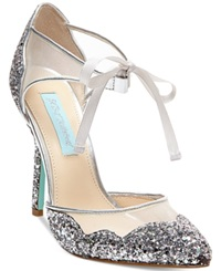 Blue By Betsey Johnson Stela Evening Sandals Women's Shoes Silver