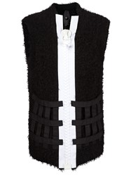 Bernhard Willhelm Chunky Zip Gilet Black