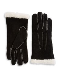 Isotoner Suede Sherpa Lined Gloves