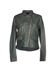 Diesel Jackets Military Green