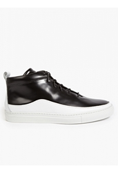 Men's Black Braeburn Hi Top Sneakers