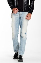 Antony Morato Faded Chain Accent Jean Blue
