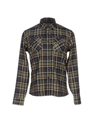 Energie Shirts Shirts Men Military Green