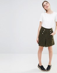 Baum Und Pferdgarten Sitara Skirt In Tweed Multi